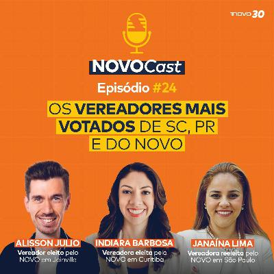 #24 OS VEREADORES MAIS VOTADOS DE SC, PR E DO NOVO