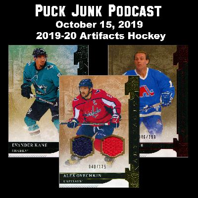 2019-20 Artifacts Hockey Cards | #28 | 10/15/2019