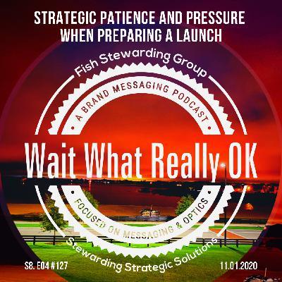 Strategic patience and pressure when preparing a launch