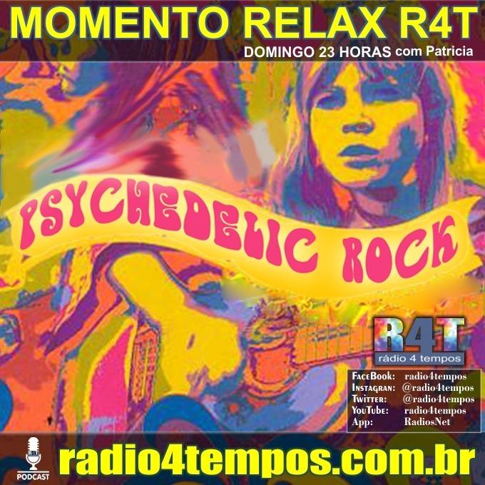 Rádio 4 Tempos - Momento Relax - Psychedelic Rock:Patricia Mosna