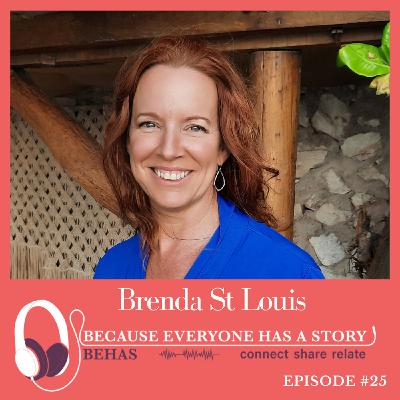 #25 - Stepping Into Life's Purpose - Brenda St Louis