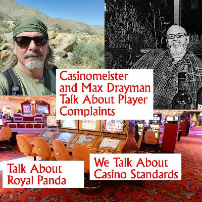 Casinomeister's Podcast - Royal Panda Complaints and Online Casino Standards