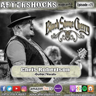 Aftershocks - Black Stone Cherry Vocalist Chris Robertson