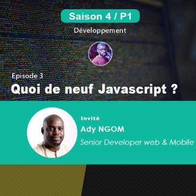 S4P1E3 - Quoi de neuf JavaScript