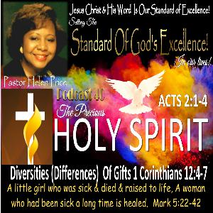 Pastor Helen Price Podcast 40--Diversities (Differences)  of operations