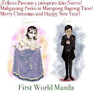 My New Year's Resolution is... (First World Manila Podcast #21)