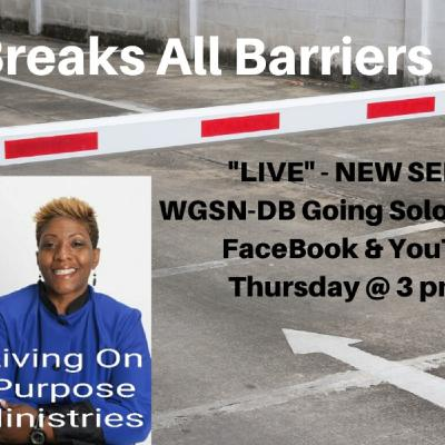 Favor Breaks All Barriers - Part 1 with Davida Smith