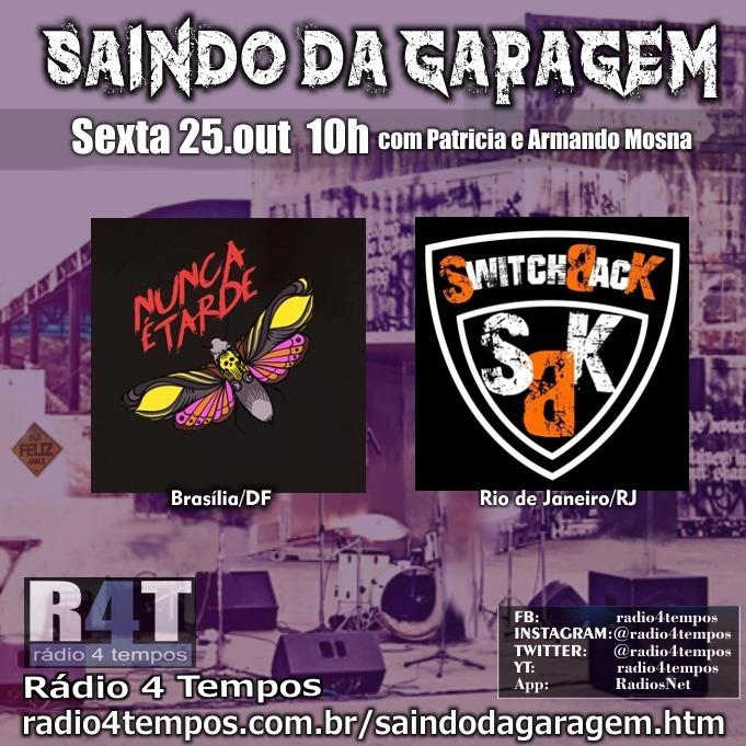Rádio 4 Tempos - Saindo da Garagem 02:Rádio 4 Tempos