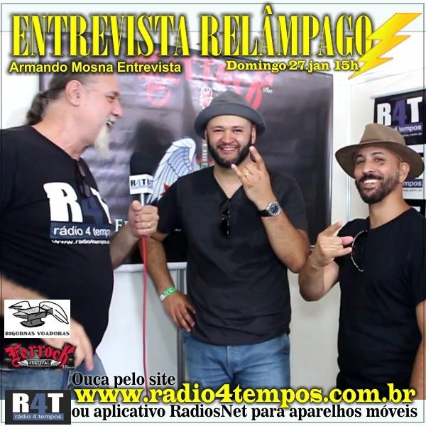 Rádio 4 Tempos - Entrevista Relâmpago 50