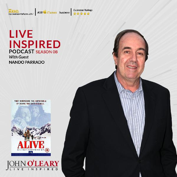 Nando Parrado, Survived Plane Crash in the Andes, Subject of the movie ALIVE S8 Ep. 84