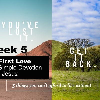 You've Lost It. Get It Back - Part 5