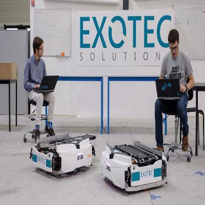 Exotec lève 90 millions de dollars pour équiper les entrepôts avec ses robots autonomes