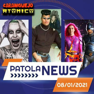 PATOLA NEWS 08/01/2021 | Jared Leto coringa, Zack Snyder fora da DC, live action de Yu Yu Hakusho e mais