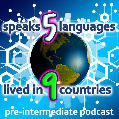 (Intermediate) 5 LANGUAGES + Lived in 9 COUNTRIES! Interview with Frank.