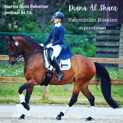 Palestinian Russian equestrian Diana Al Shaer