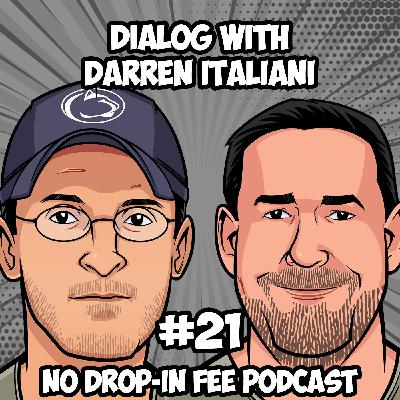 #21 - Dialog with BJJ Brown Belt and Goshin Jutsu Black Belt Darren Italiani