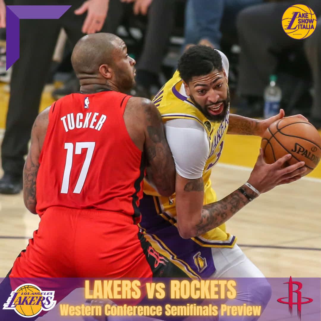 Lakers-Rockets: fate il vostro gioco