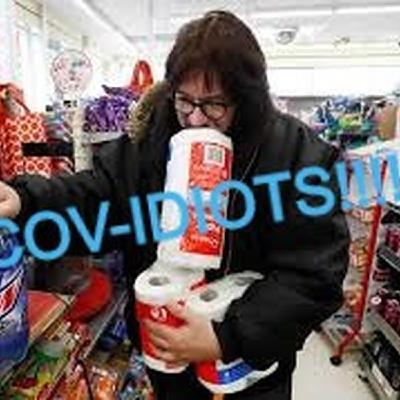 COV-idiots are Fear Food