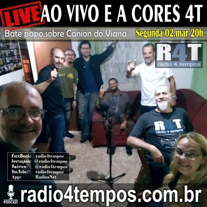Rádio 4 Tempos - Ao Vivo E a Cores 69