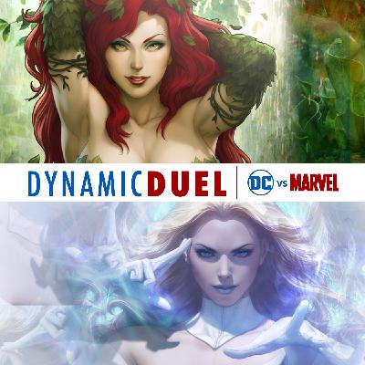 Poison Ivy vs White Queen (Emma Frost)
