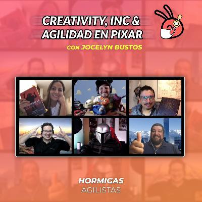 EP44 - [Libro] Creativity, Inc & Agilidad en Pixar con JocelynBustos