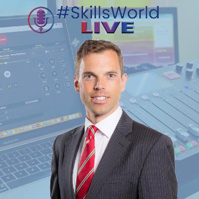Ken Skates MS Minister for Economy and Transport Minister for North Wales talks to Tom Bewick for #SkillsWorldLIVE