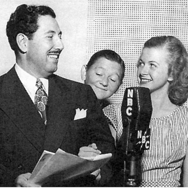 Family Comedy Cast - The Great Gildersleeve - The Ship Christening - The Mystery Voice