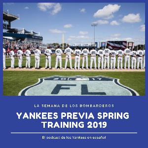 Yankees previa Spring Training 2019