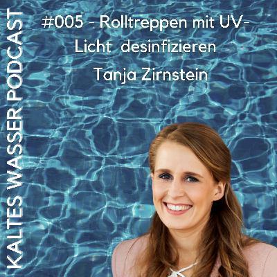 #005 Rolltreppen mit UV-Licht desinfizieren (Tanja Zirnstein | UVIS)