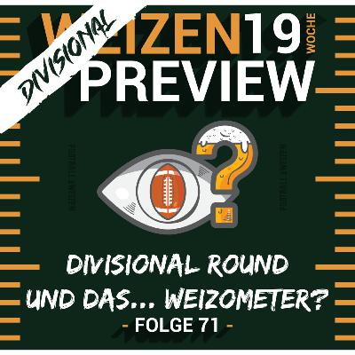 Divisional Round und das... Weizometer?   Weizenpreview Divisional   S2 E71   NFL Football