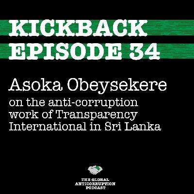 34. Asoka Obeysekere on the anti-corruption work of Transparency International in Sri Lanka