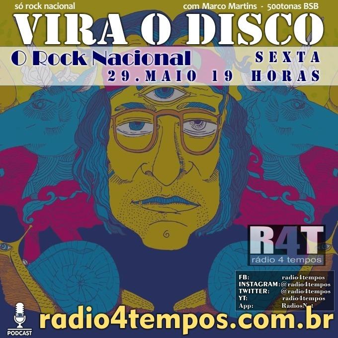 Rádio 4 Tempos - Vira o Disco 63:Rádio 4 Tempos