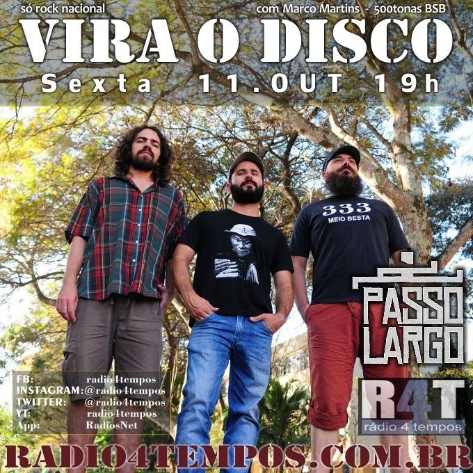 Rádio 4 Tempos - Vira o Disco 48:Rádio 4 Tempos