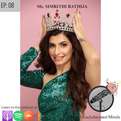Miss India International Simrithi Bathija On her Journey To Success