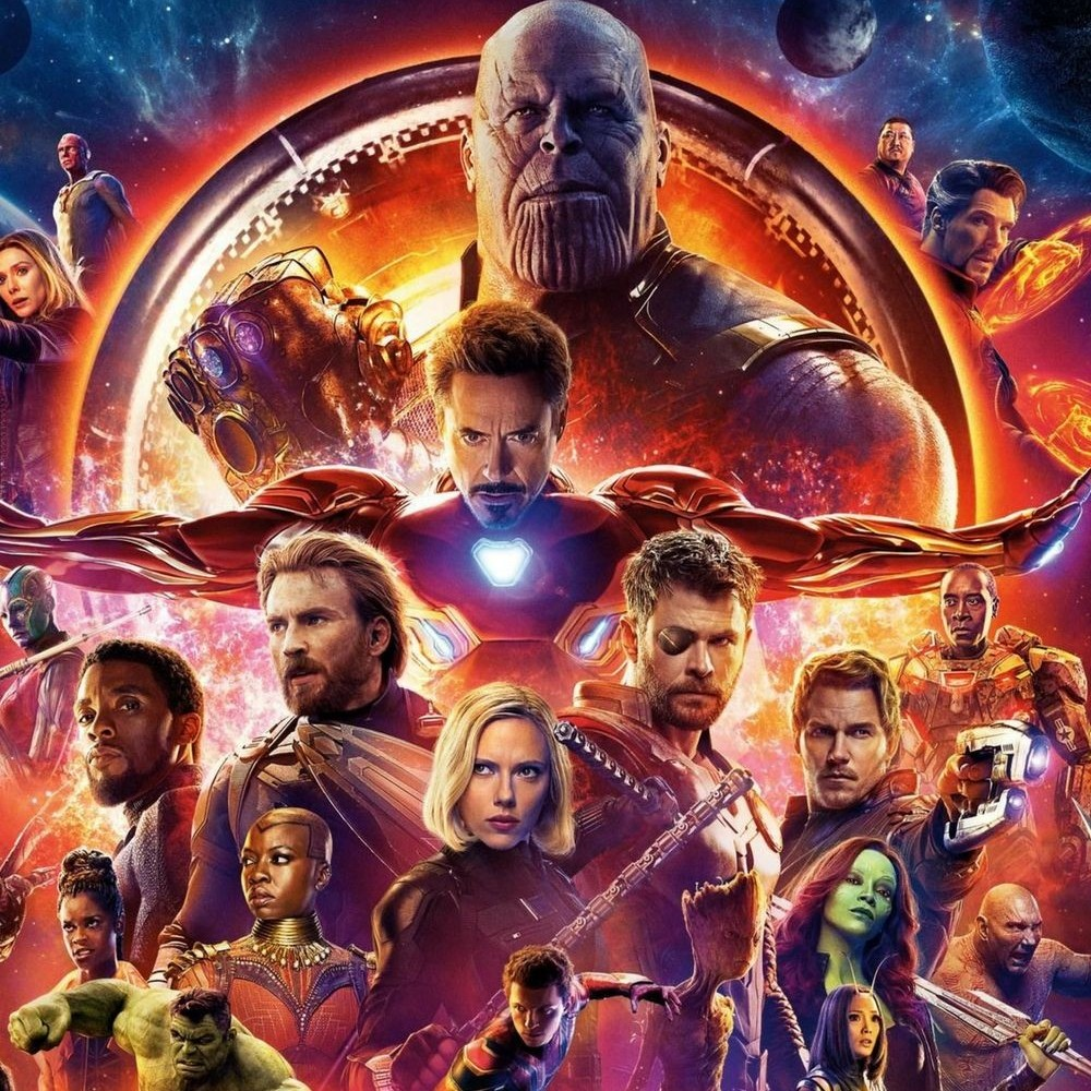 Avengers Infinity War..best comic book movie ever!