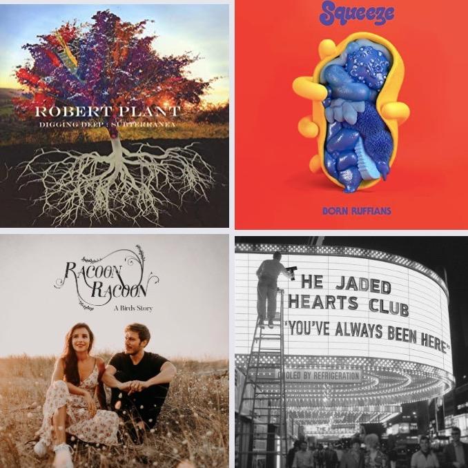Top 10 des sorties d'albums du 02/10/20 pop/folk/rock/electro/jazz/funk/soul #105