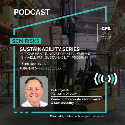 95. Sustainability series - Improvement, innovation, and learning in a well-run sustainability program