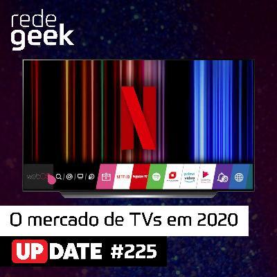 Update – O mercado de TVs em 2020