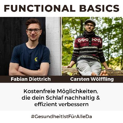 #174 Kostenfreie Möglichkeiten, die dein Schlaf nachhaltig & effizient verbessern mit Fabian Diettrich & Carsten Wölffling #GesundheitIstFürAlleDa