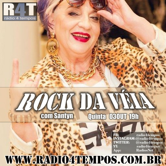 Rádio 4 Tempos - Rock da Véia 71:Rádio 4 Tempos