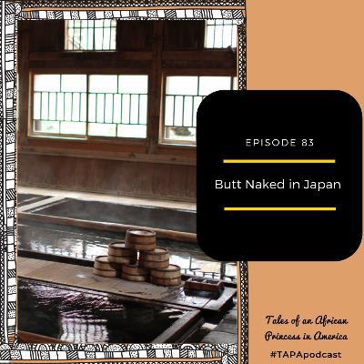 Butt Naked in Japan