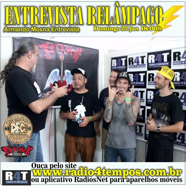Rádio 4 Tempos - Entrevista Relâmpago 56