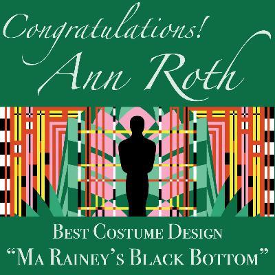 Ann Roth, Academy Award-Winning Costume Designer
