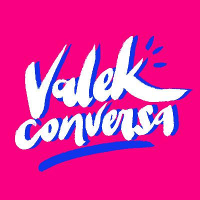 Valek conversa com Olivia Maia