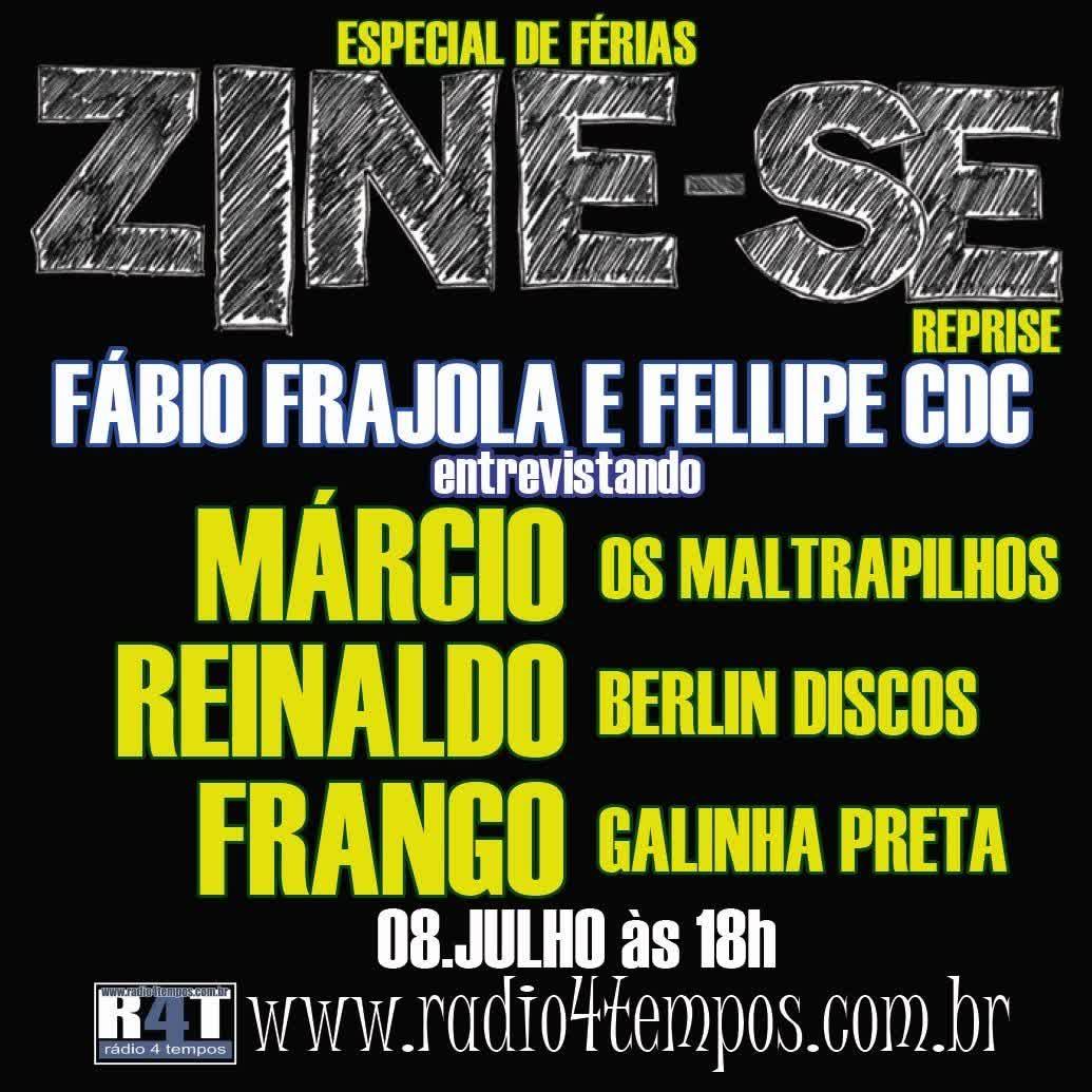 Rádio 4 Tempos - Zine-se 61