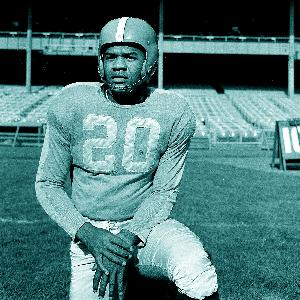 George Taliaferro, the first black player drafted to the NFL