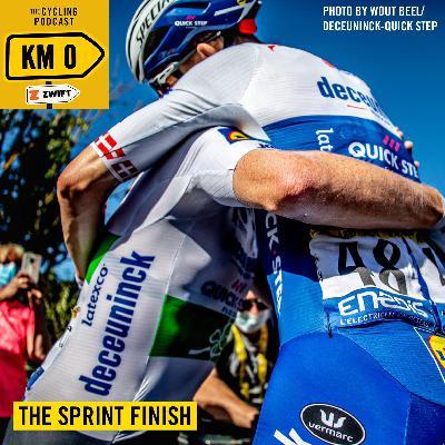 116: Kilometre 0 –The sprint finish