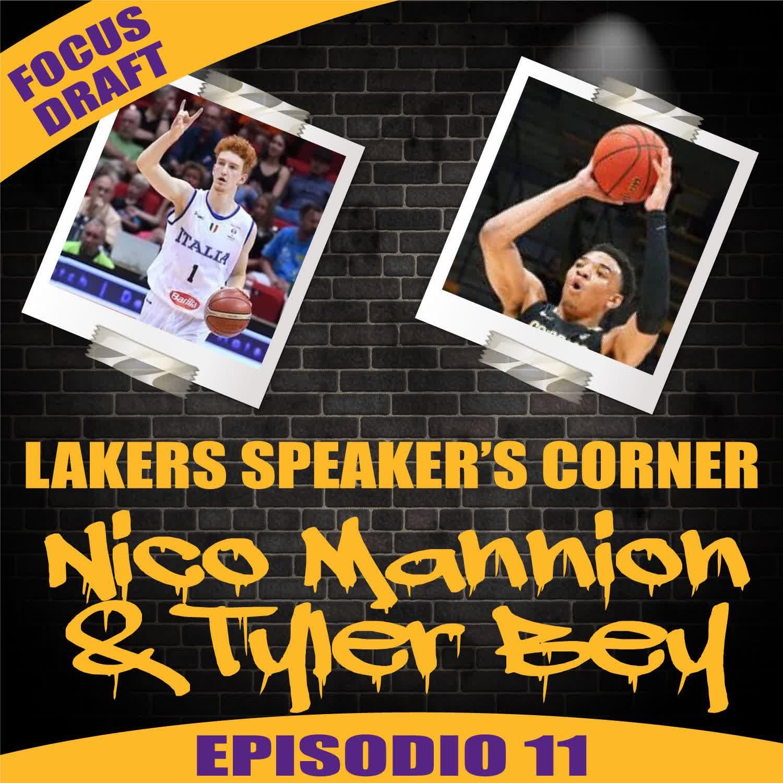 LSC Focus Draft 11: Nico Mannion & Tyler Bey