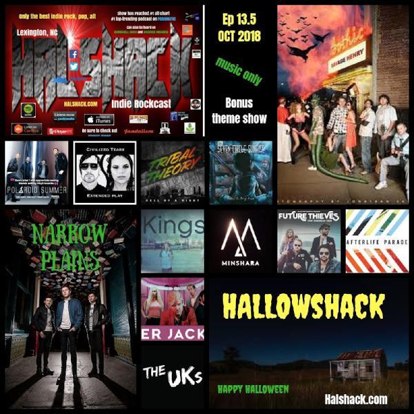Hallowshack Ep 13.5 (Hallowshack)-music only bonus show 10-30-18