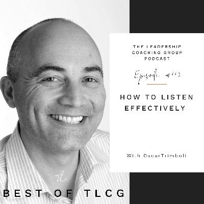 How To Listen Effectively with Oscar Trimboli and Liz Howard